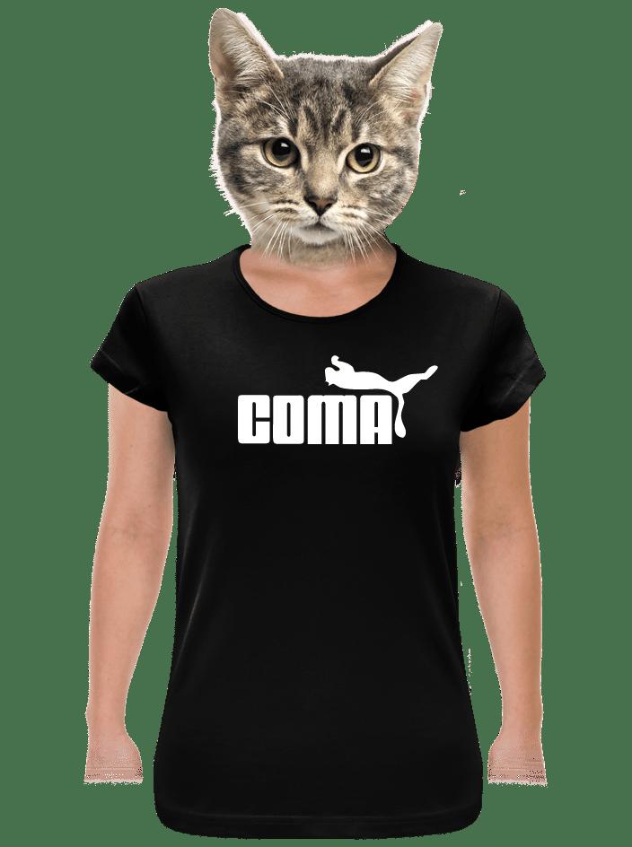 Coma černé dámské tričko klasik