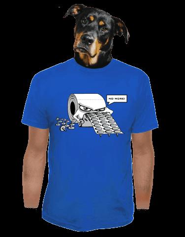 Toaleťák pánské tričko