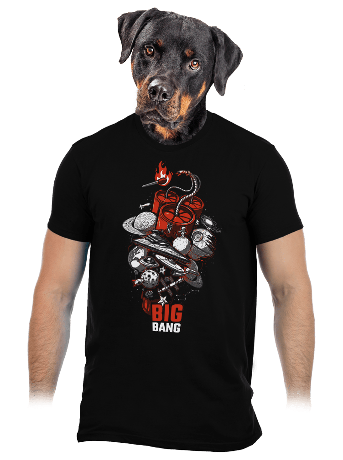 Big Bang pánské tričko - nový střih