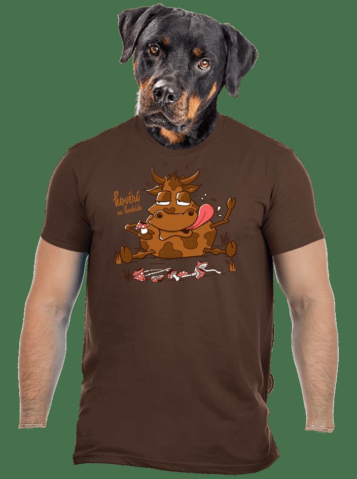 Hovězí na houbách pánské tričko