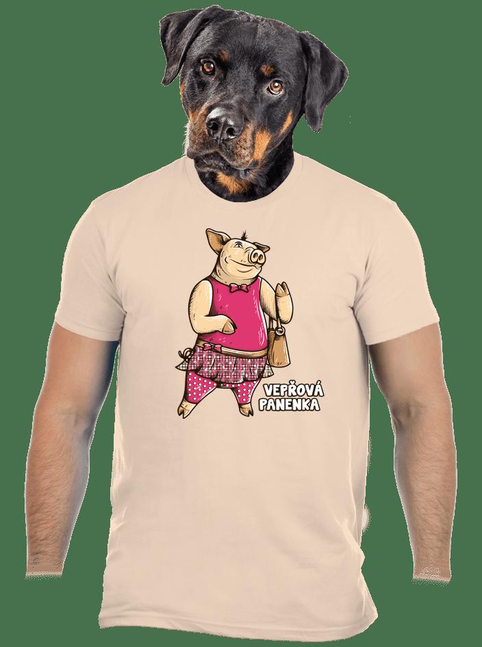 Vepřová panenka pánské tričko