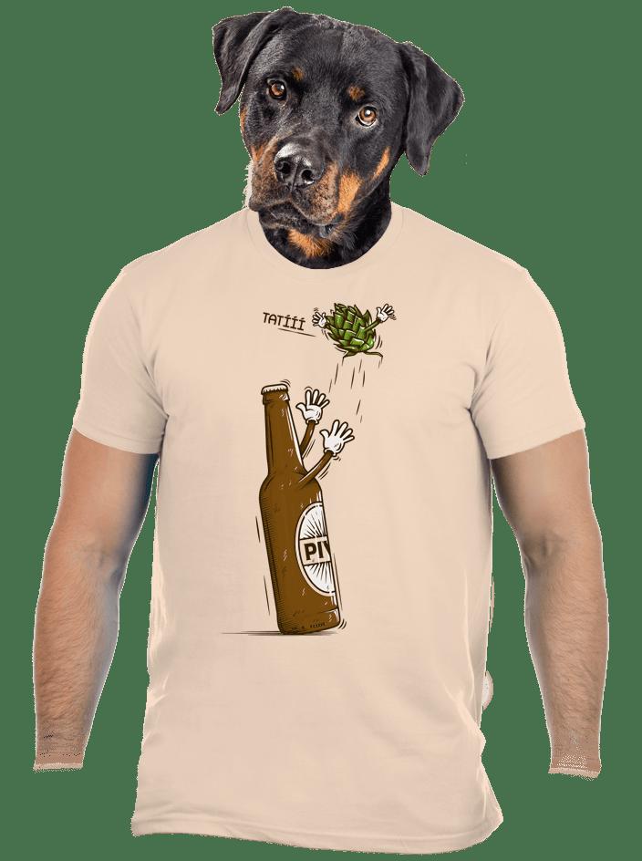 Lahváč a syn pánské tričko