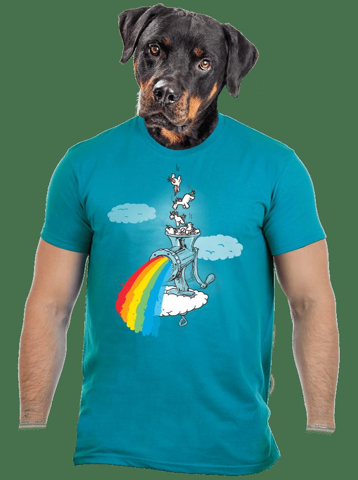 Jak vzniká duha pánské tričko