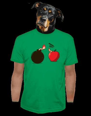 Bombovej účes pánské tričko