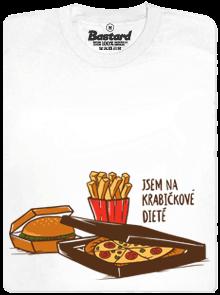 Bastard Krabičková dieta bílé pánské tričko