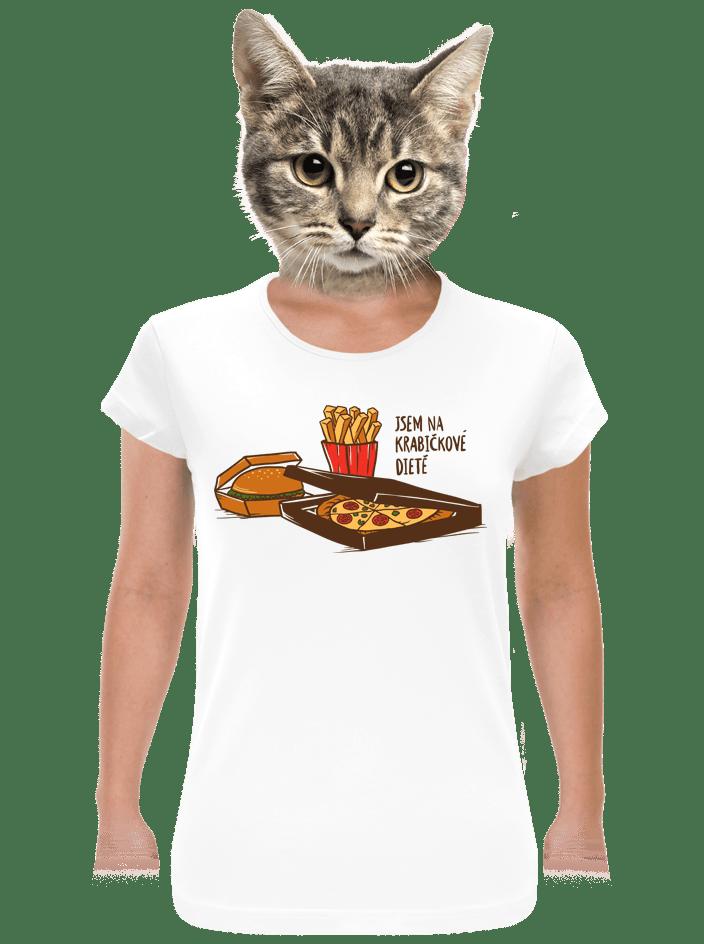 Krabičková dieta dámské tričko