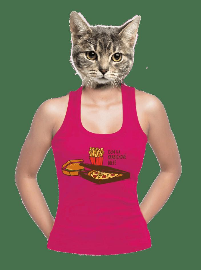 Krabičková dieta dámské tílko
