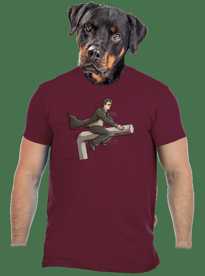 Harry na inbusu vínové pánské tričko