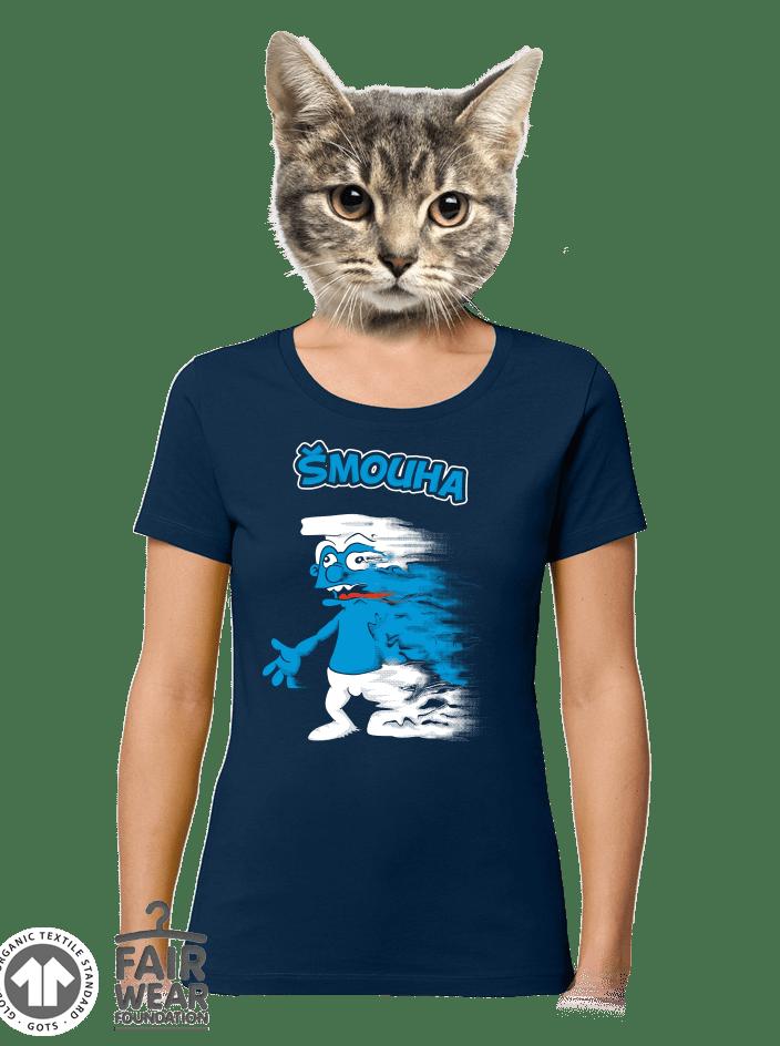 Šmouha dámské BIO tričko