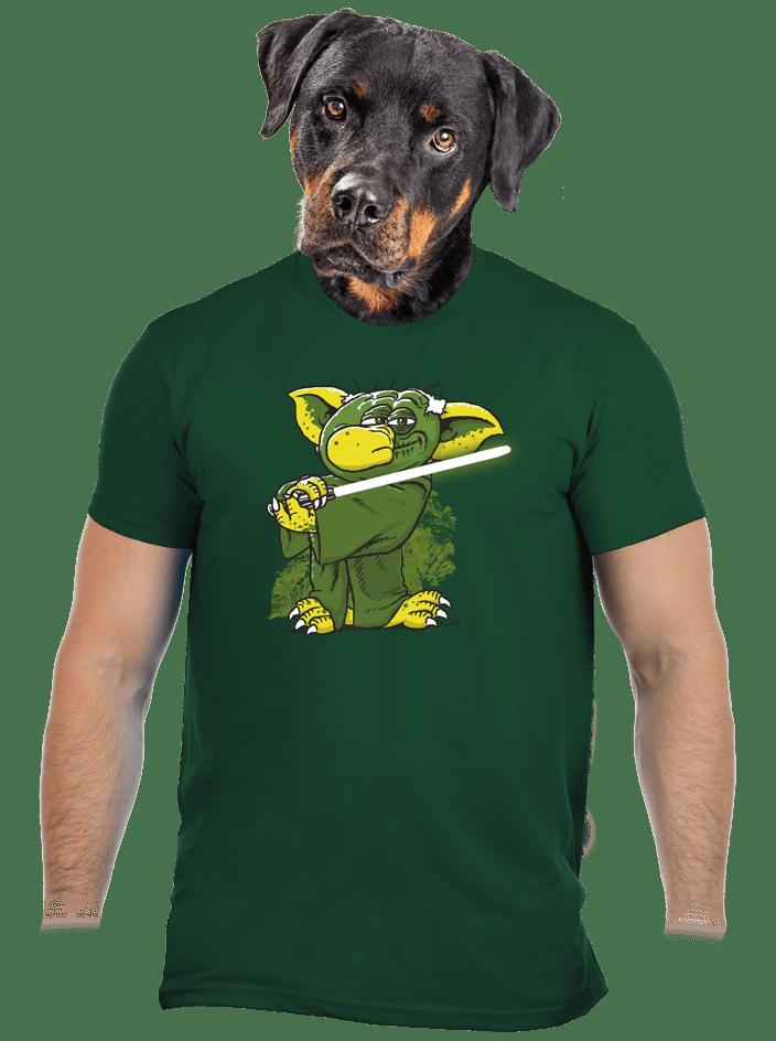 Yoda v rákosí pánské tričko