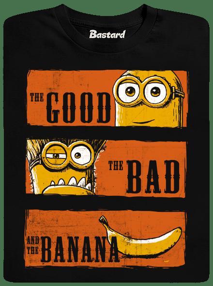 Bastard Hodný zlý a banán dětské tričko