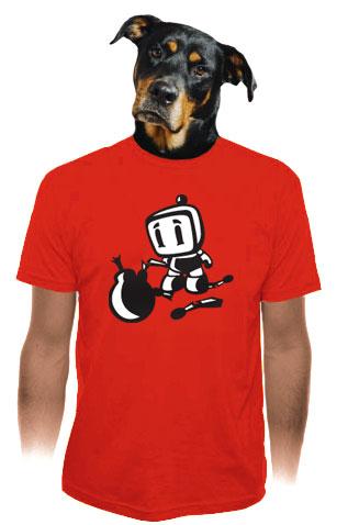 Bomberman pánské tričko