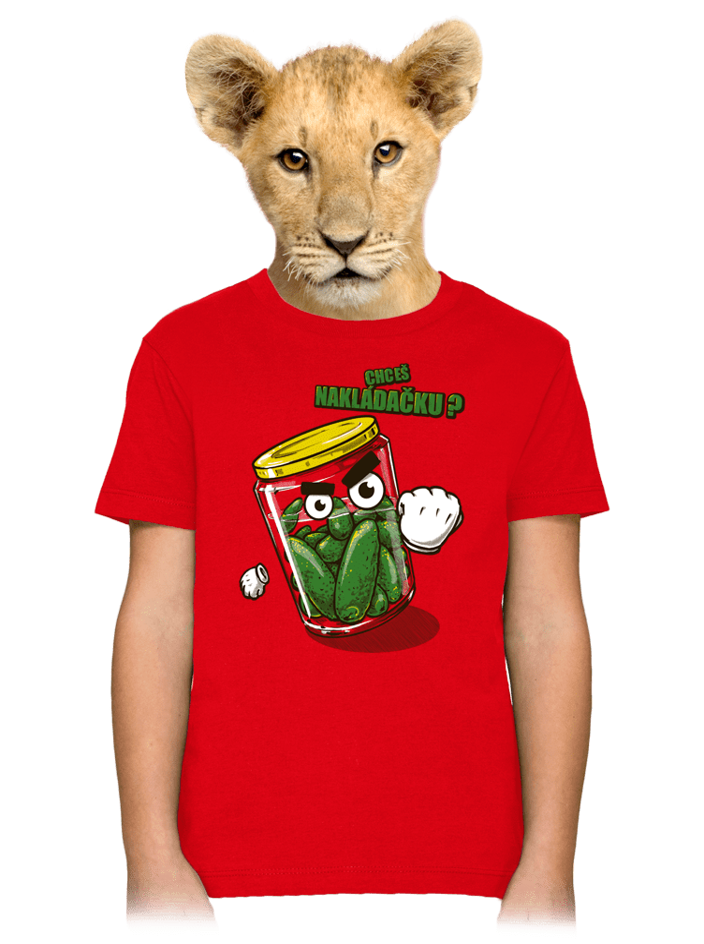 Nakládačka dětské tričko