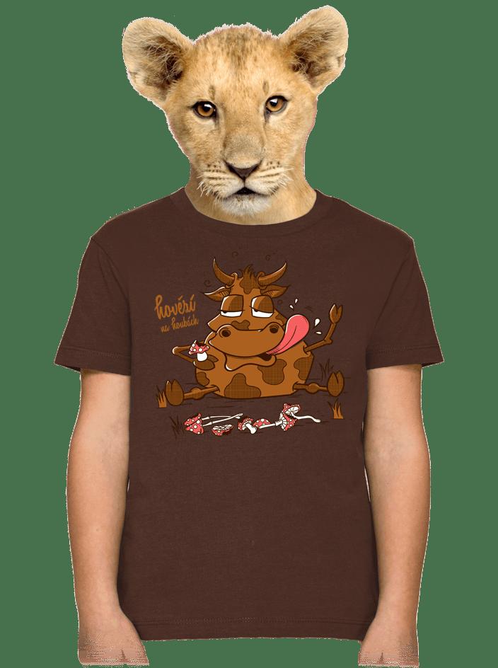 Hovězí na houbách dětské tričko