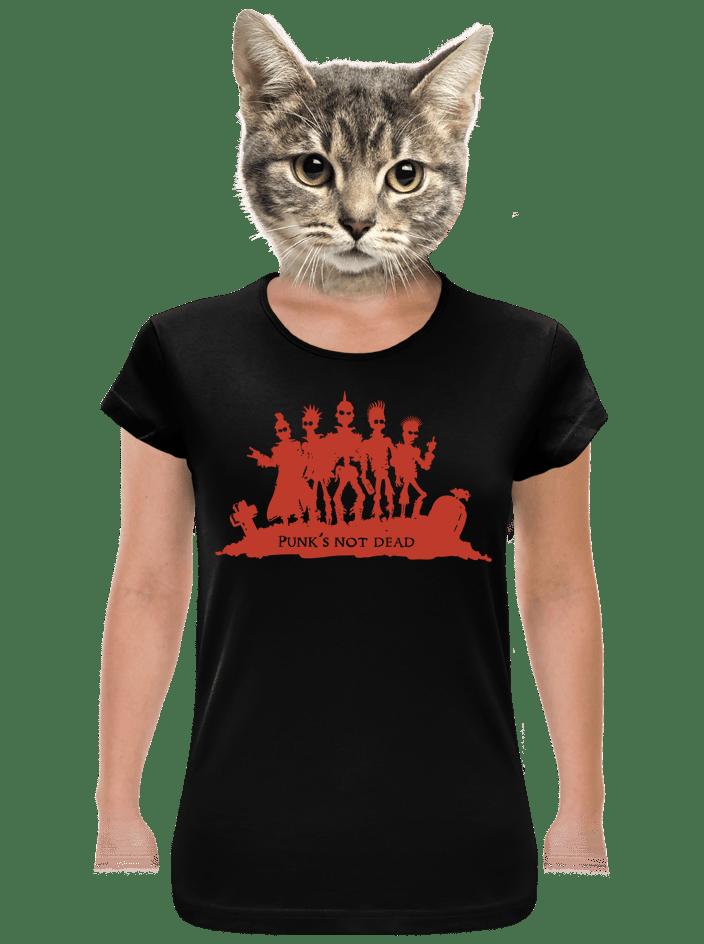 Punk's Not Dead dámské tričko