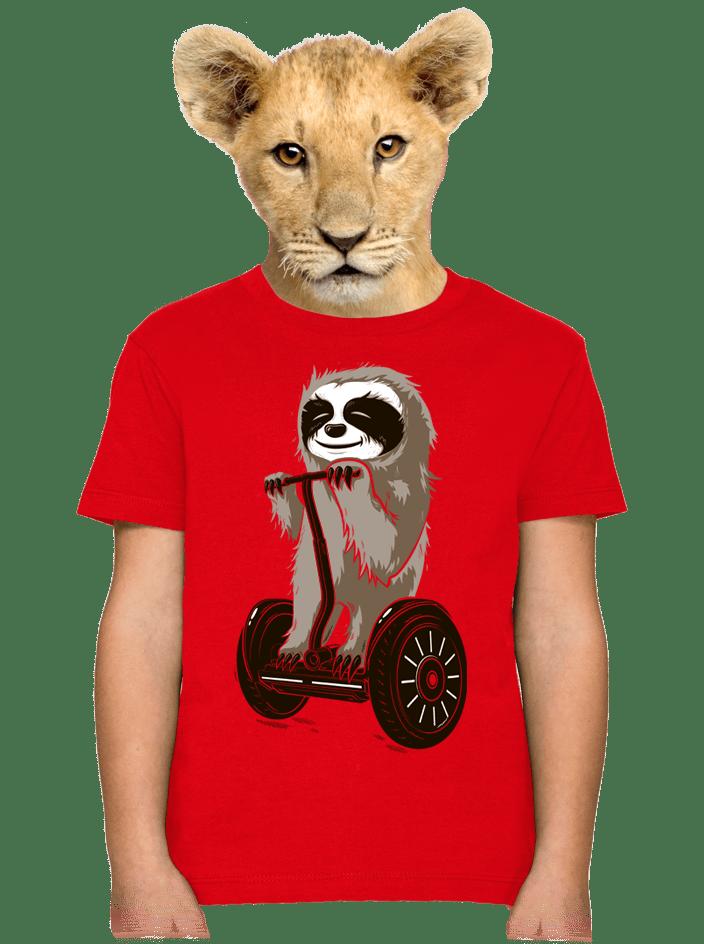 Lenochod dětské tričko