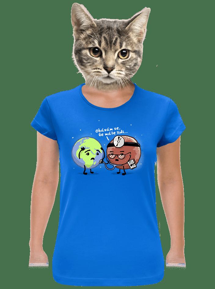Diagnóza dámské tričko