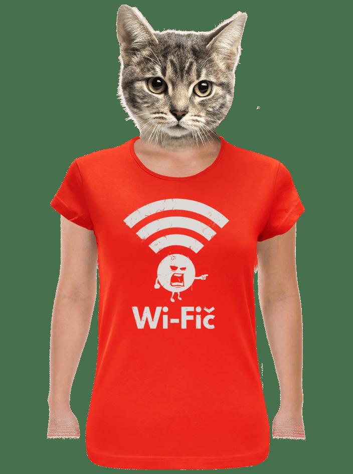 Wifič dámské tričko
