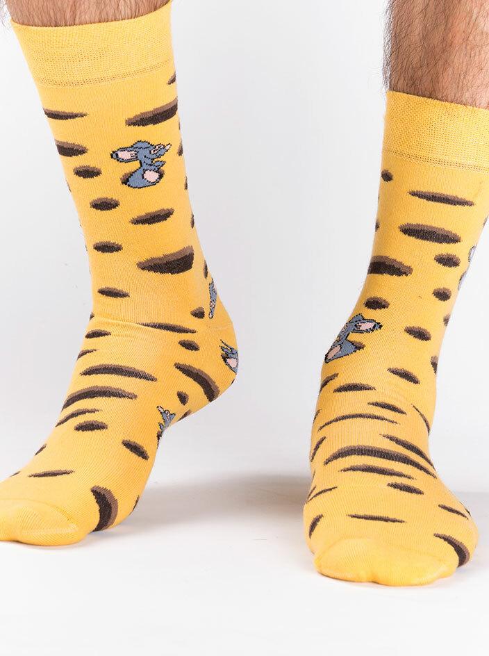 Ementál ponožky