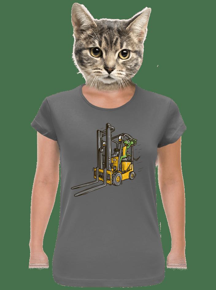 Ještěrka dámské tričko