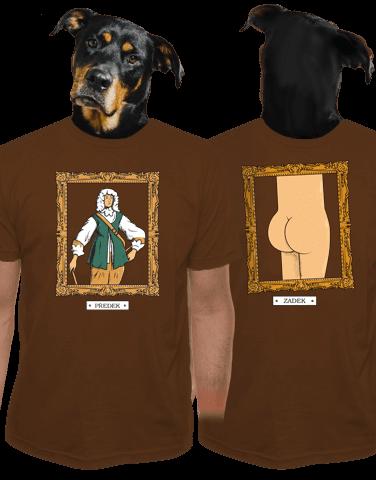 Předek pánské tričko - nový střih