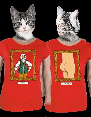 Předek dámské tričko