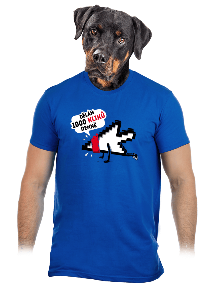 Klikař pánské tričko – nový střih