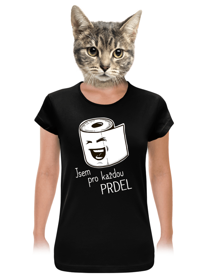 Prdel dámské tričko