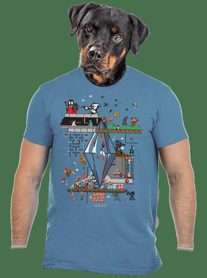 Zapaříme pánské tričko – nový střih