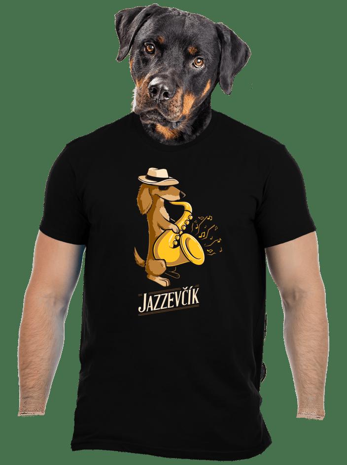 Jazzevčík pánské tričko – nový střih
