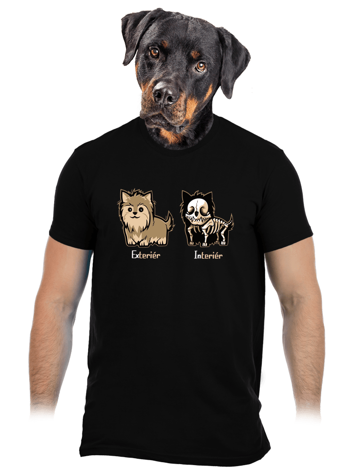Teriér pánské tričko – nový střih
