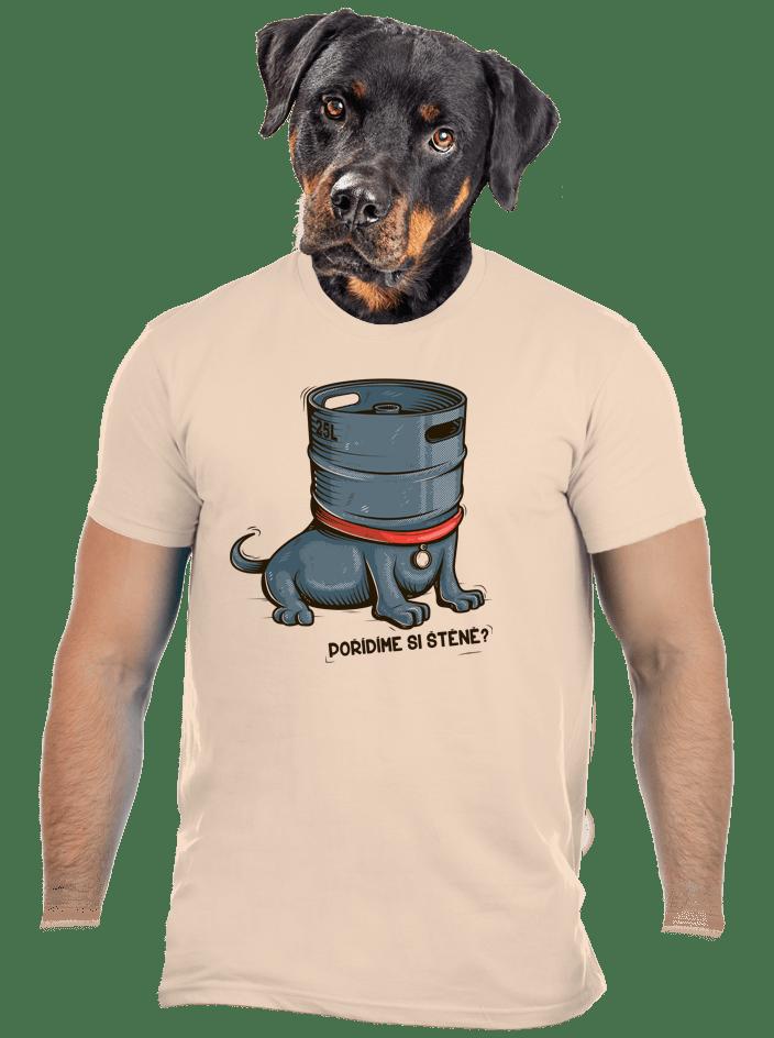 Štěně pánské tričko