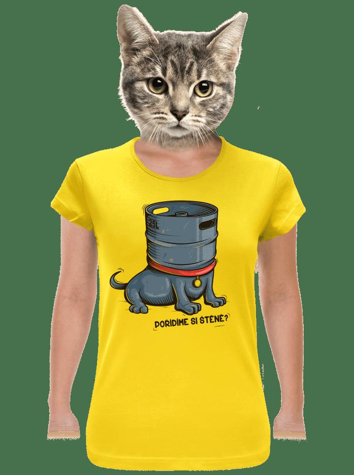 Štěně dámské tričko