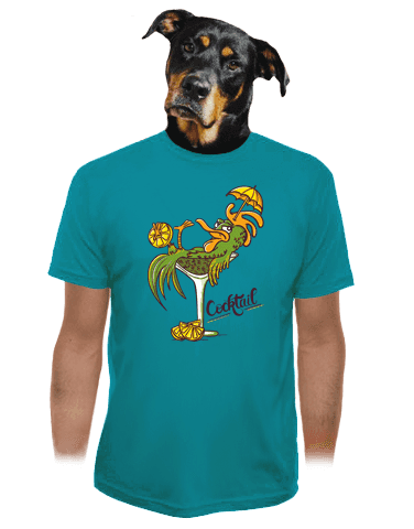 Cocktail pánské tričko