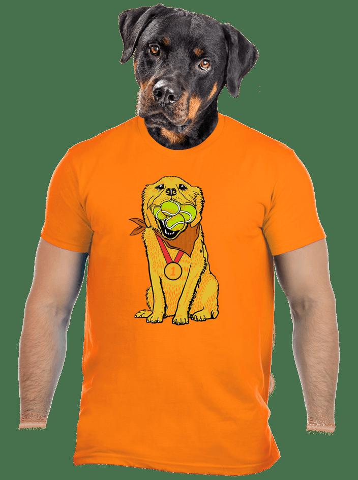 Zlatý retrívr pánské tričko