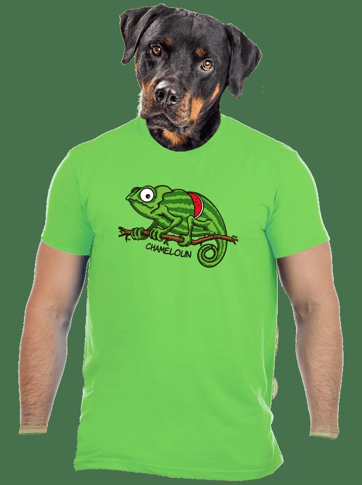 Chameloun zelené pánské tričko – nový střih