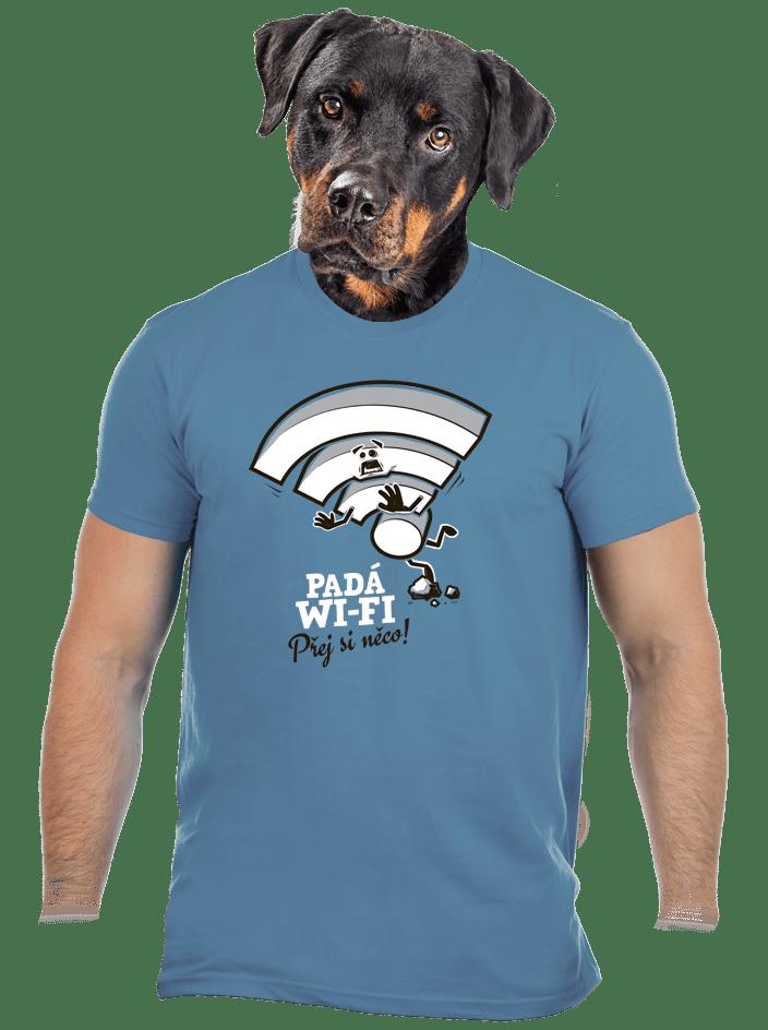 Padá wi-fi pánské tričko