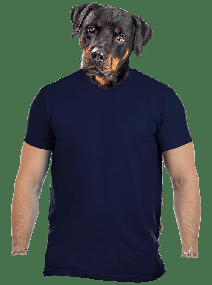 Pánské tričko tm. modré
