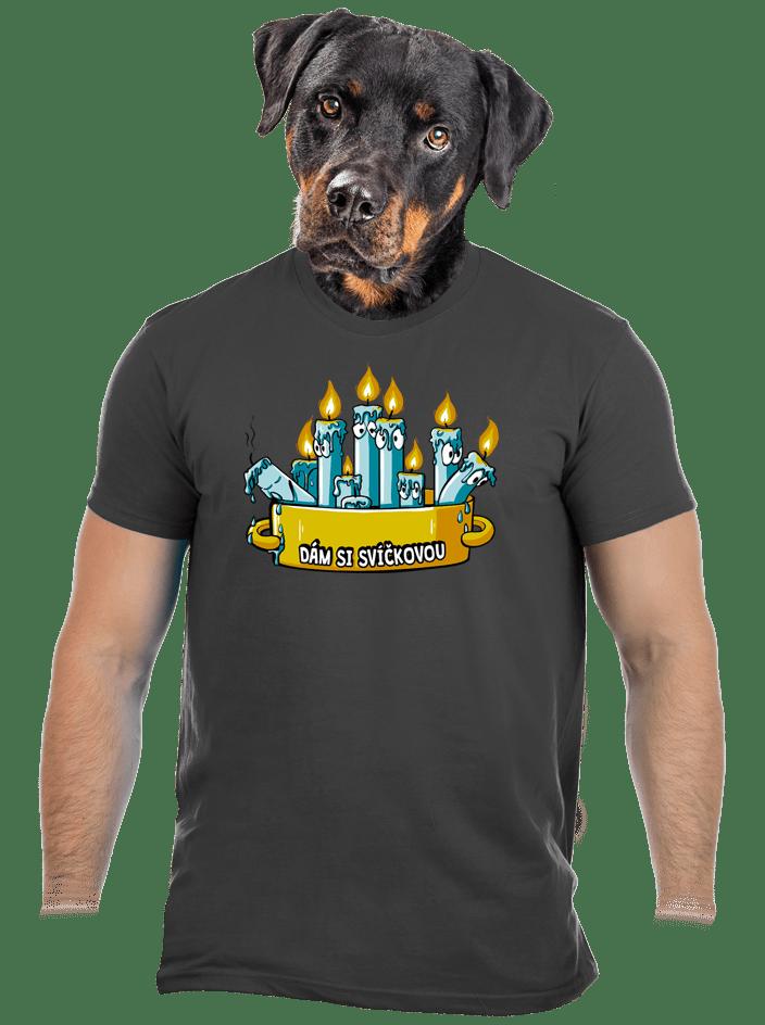 Svíčková pánské tričko – nový střih