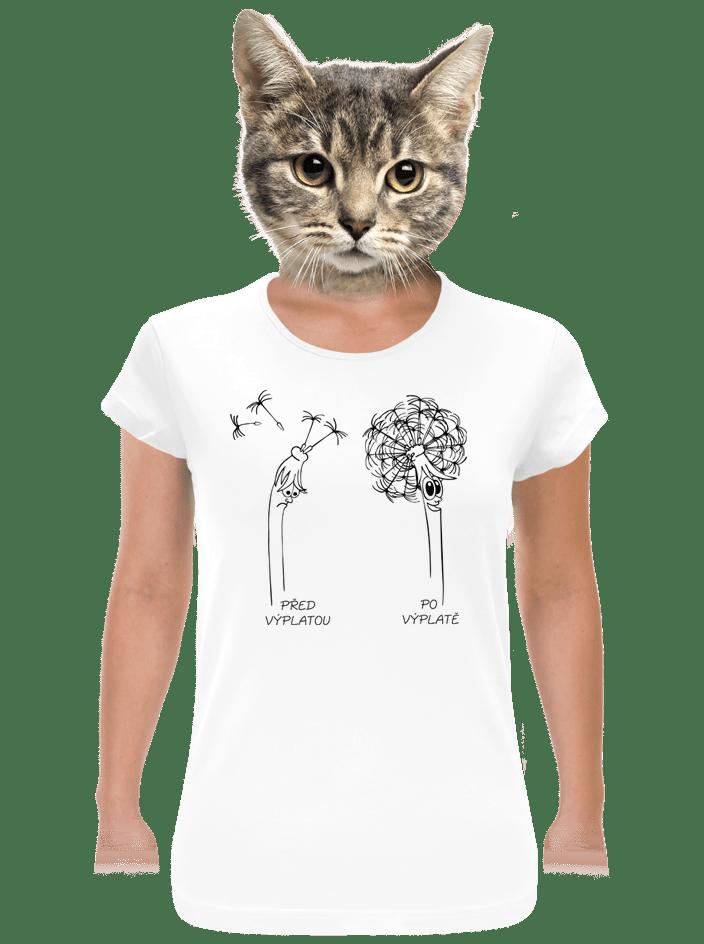 Výplata dámské tričko