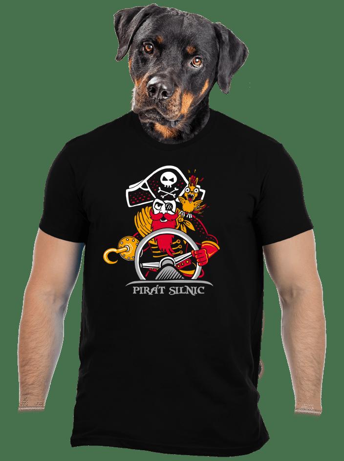 Pirát silnic pánské tričko