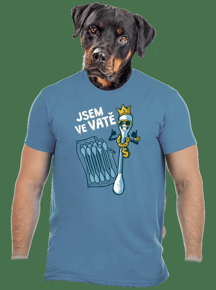 Ve vatě pánské tričko