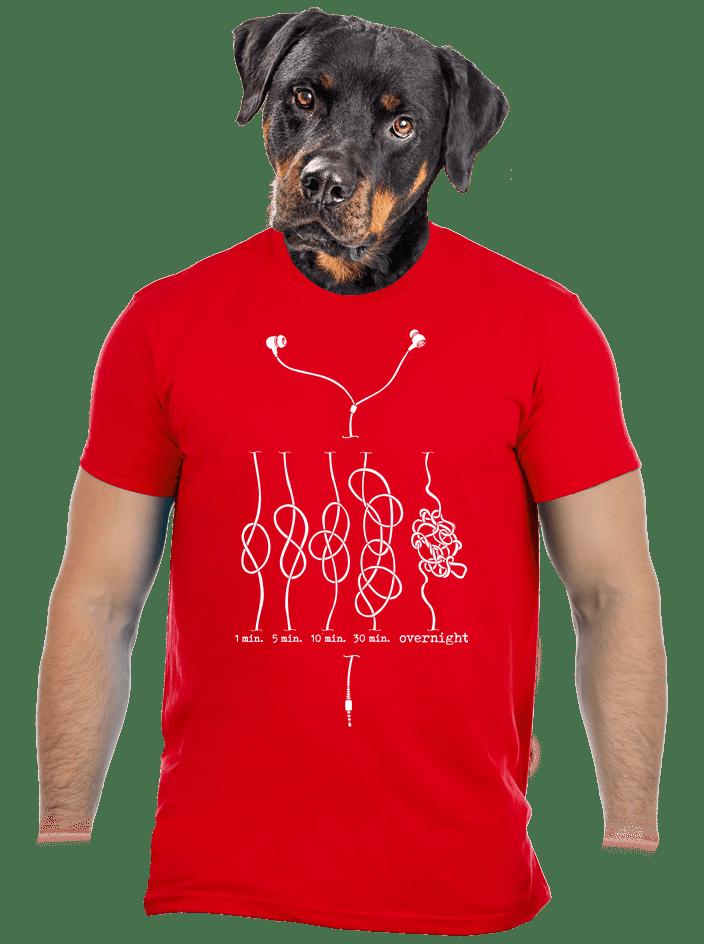 Škola uzlování pánské tričko