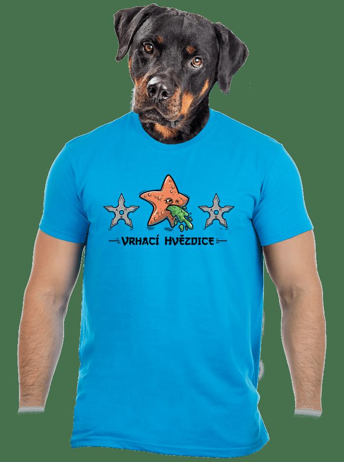 Vrhací hvězdice pánské tričko