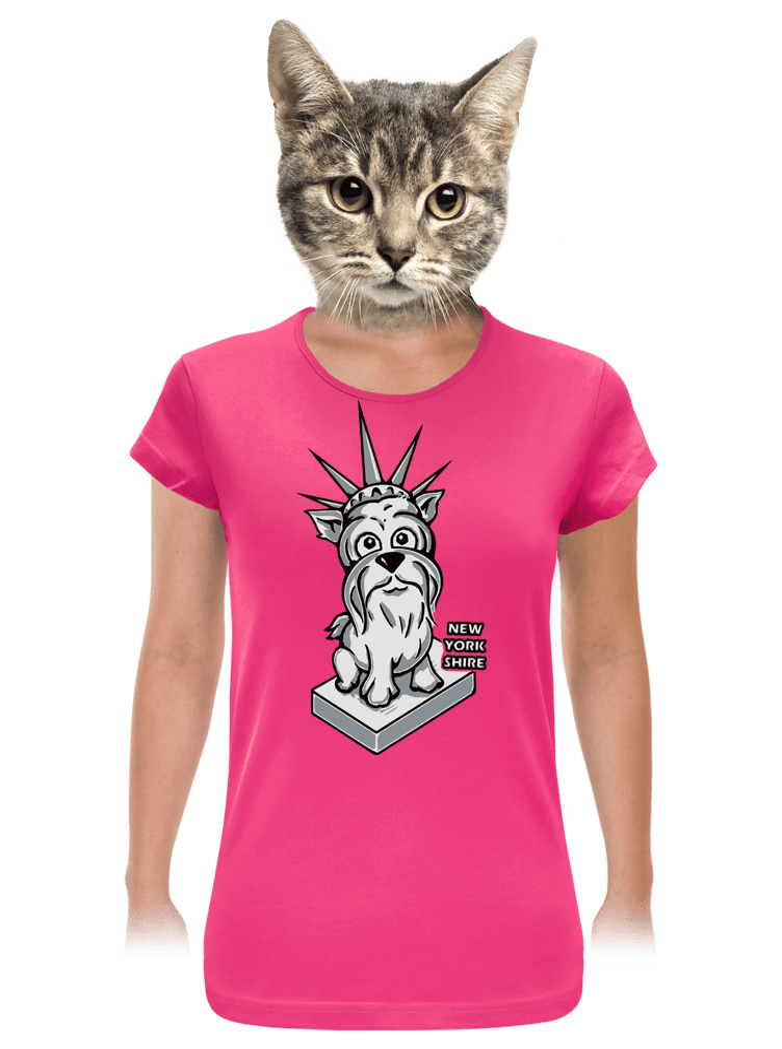 New Yorkshire dámské tričko