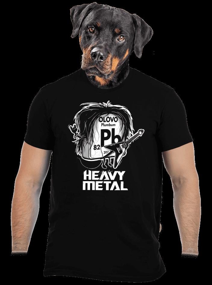 bf230a654f1 Heavy Metal pánské tričko