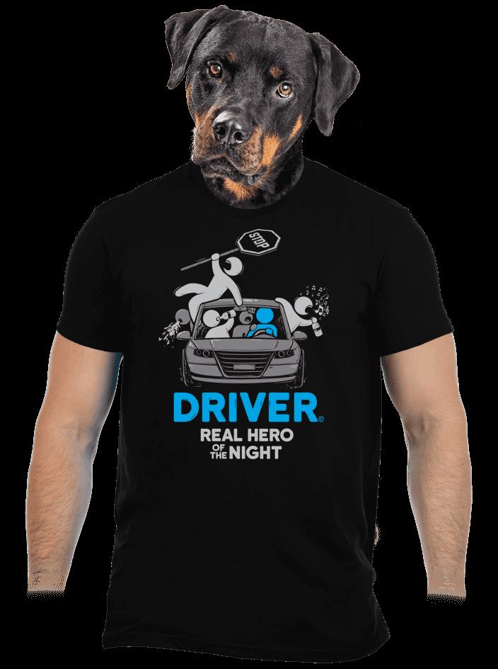 Driver pánské tričko