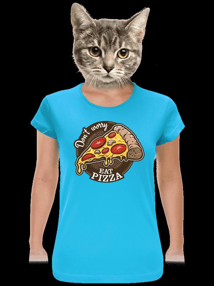 Pizza dámské tričko