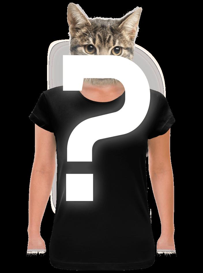 Tajemné dámské tričko klasické