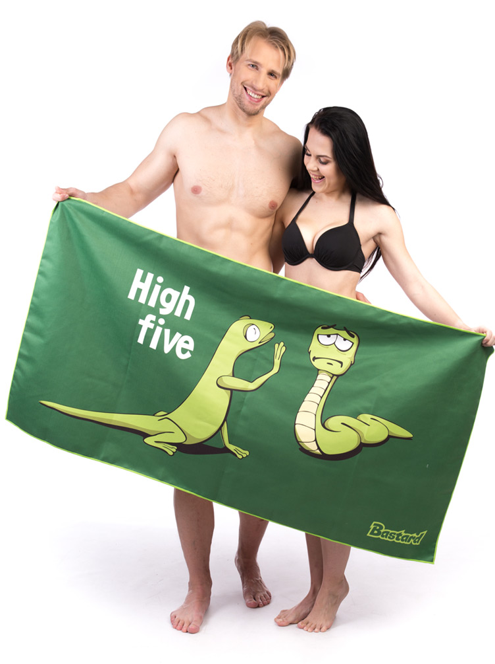 High Five rychleschnoucí osuška